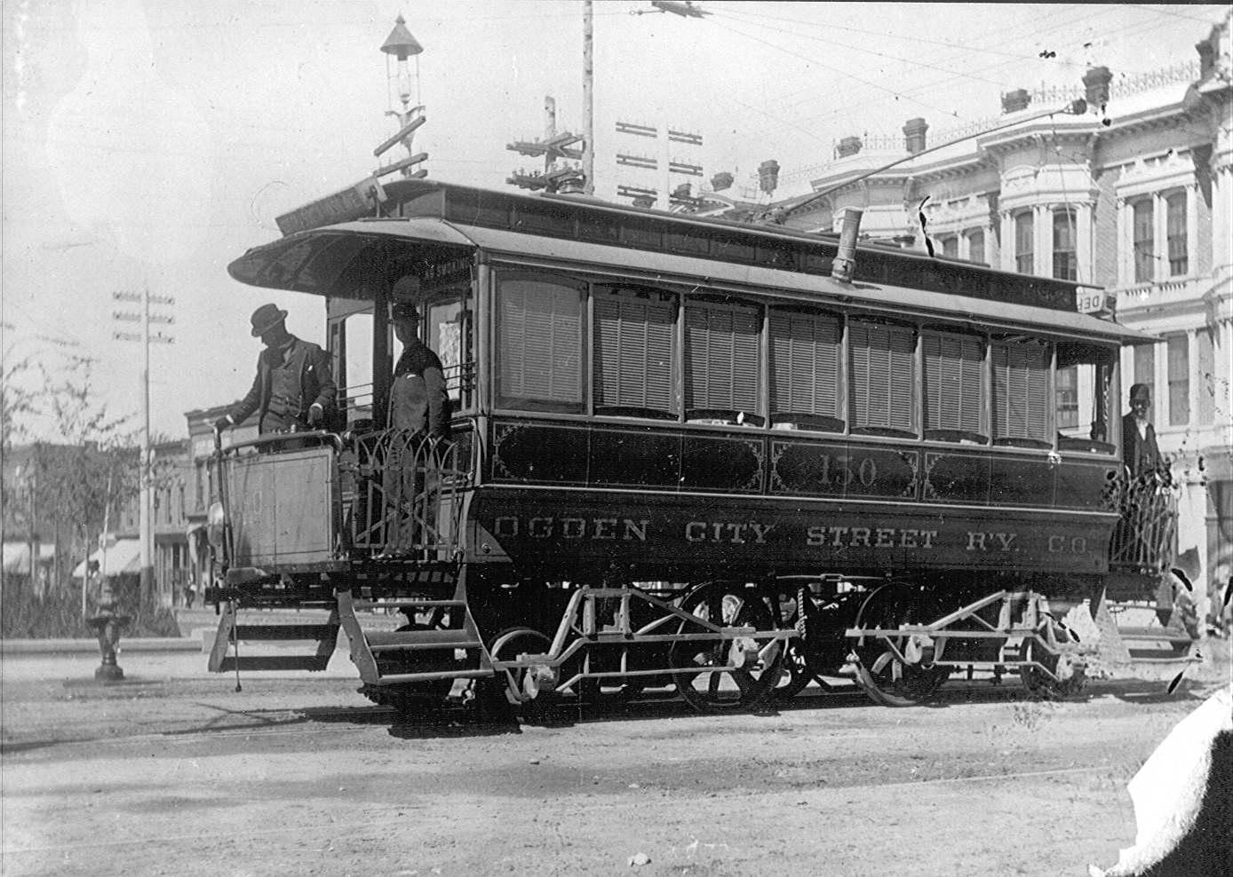 Historic Ogden Trolley Photo/Courtesy of Union Station
