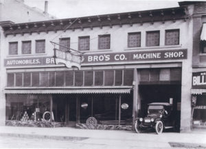 Historic photo of the Browning building. Photo courtesy of Ogden City