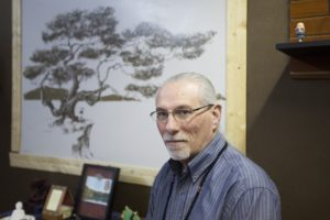 Former Ogden Police Department Sgt. Doug Lucero poses for a portrait in the lower level of Hidden Sage Holistic Life Center on Wednesday, March 29, 2017, in Sunset. Photo by BRIANA SCROGGINS/Standard-Examiner